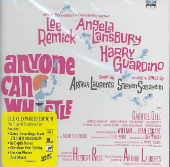 ANYONE CAN WHISTLE BY ORIGINAL BROADWAY CA (CD)